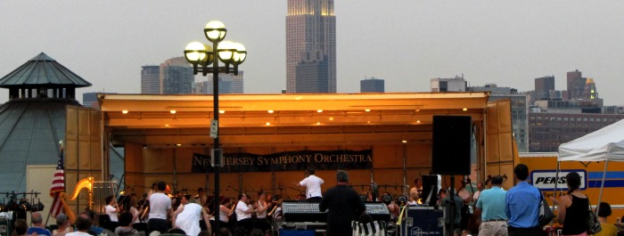 New Jersey Symphony Orchestra :: Pier A Park in Hoboken